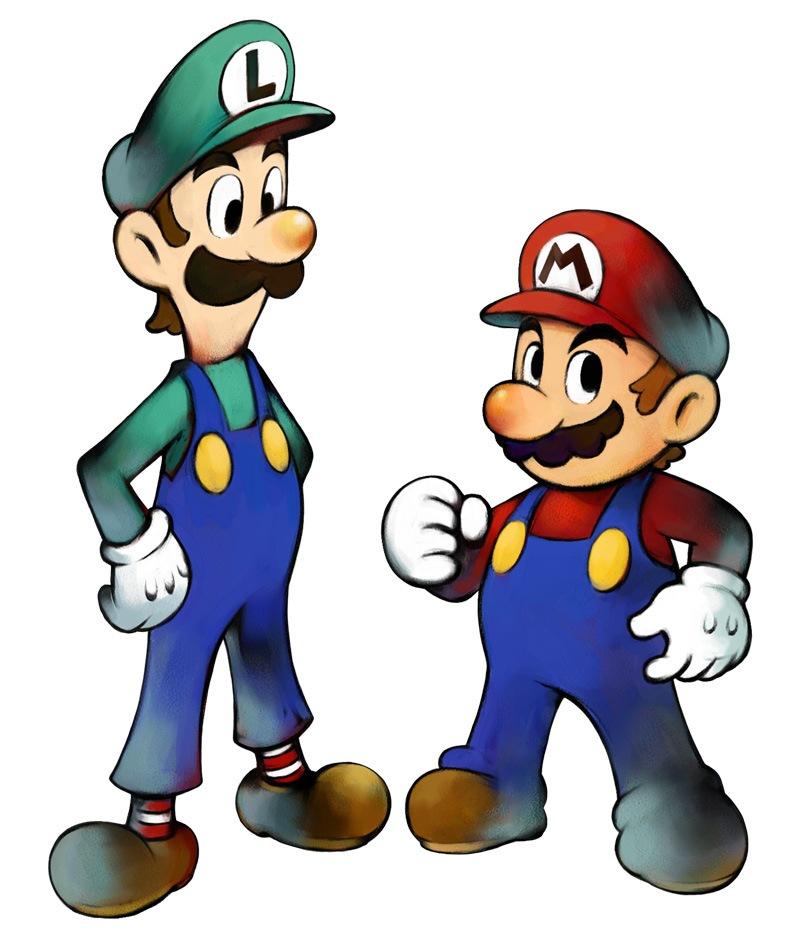 Fotos de Mario y Luigi