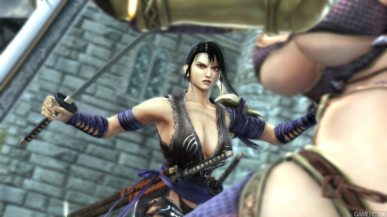 Soulcalibur III PlayStation 2 Gameplay - Naked Girl - YouTube