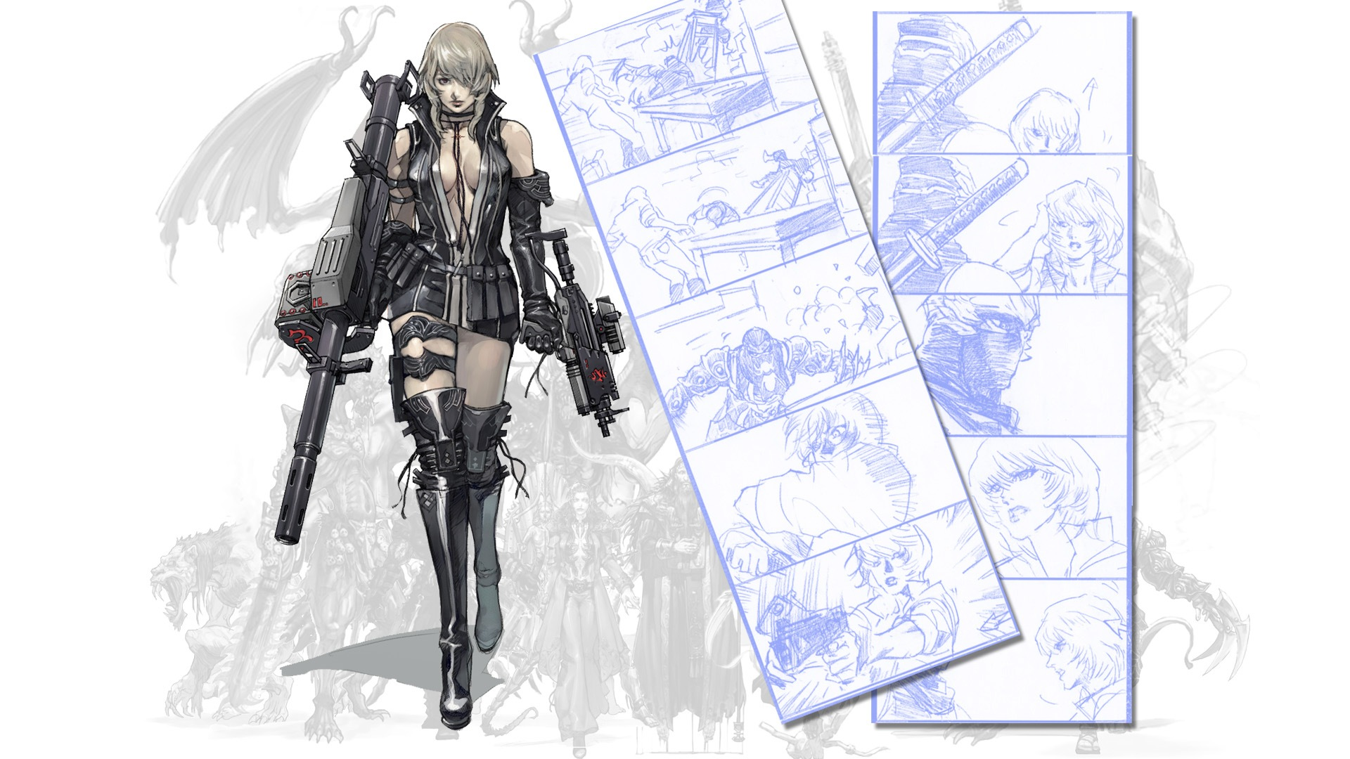 Ninja Gaiden 2 Sonia And Genshin Artwork And Renders Addicted To Ludus