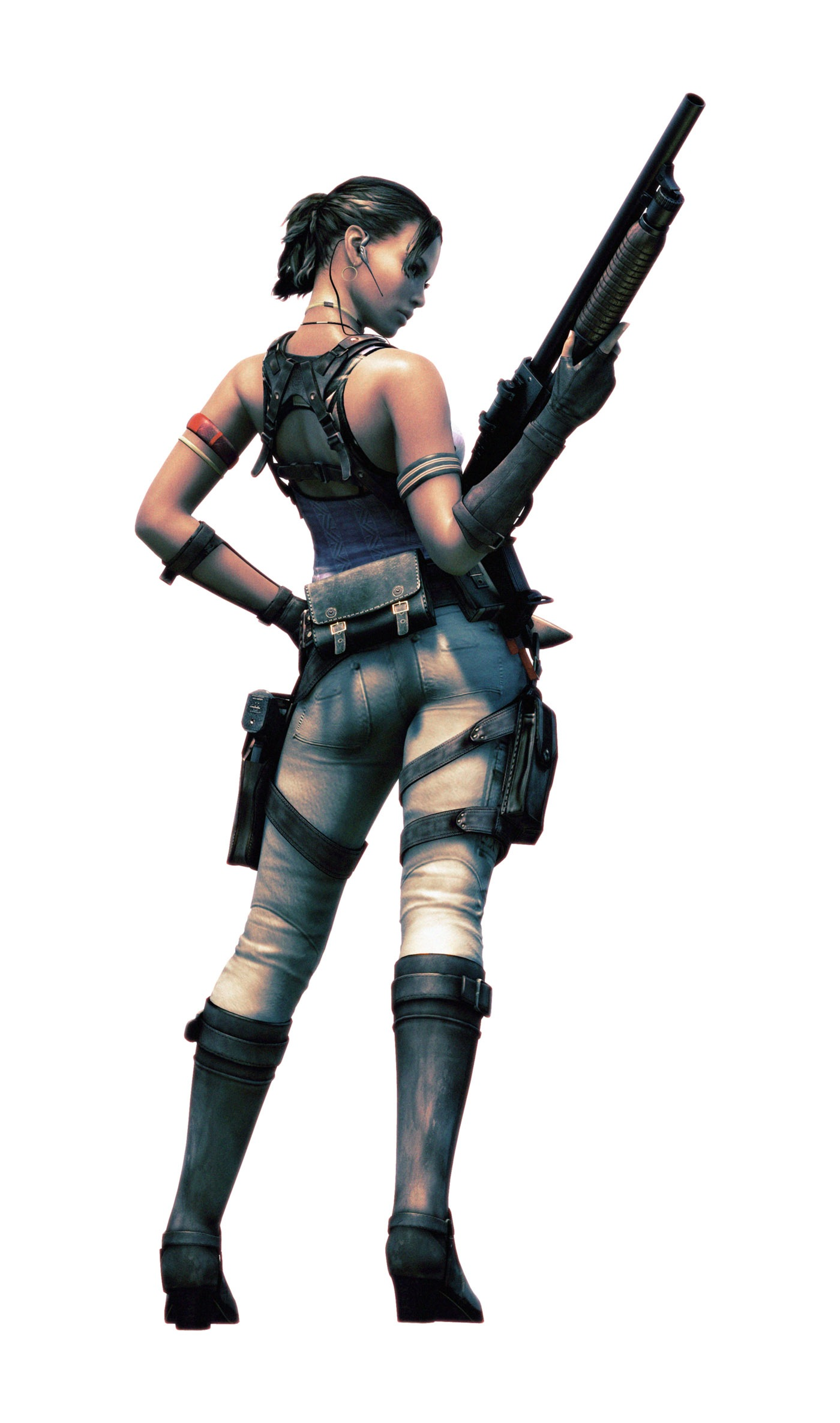 Resident Evil 5 Characters Renders Addicted To Ludus