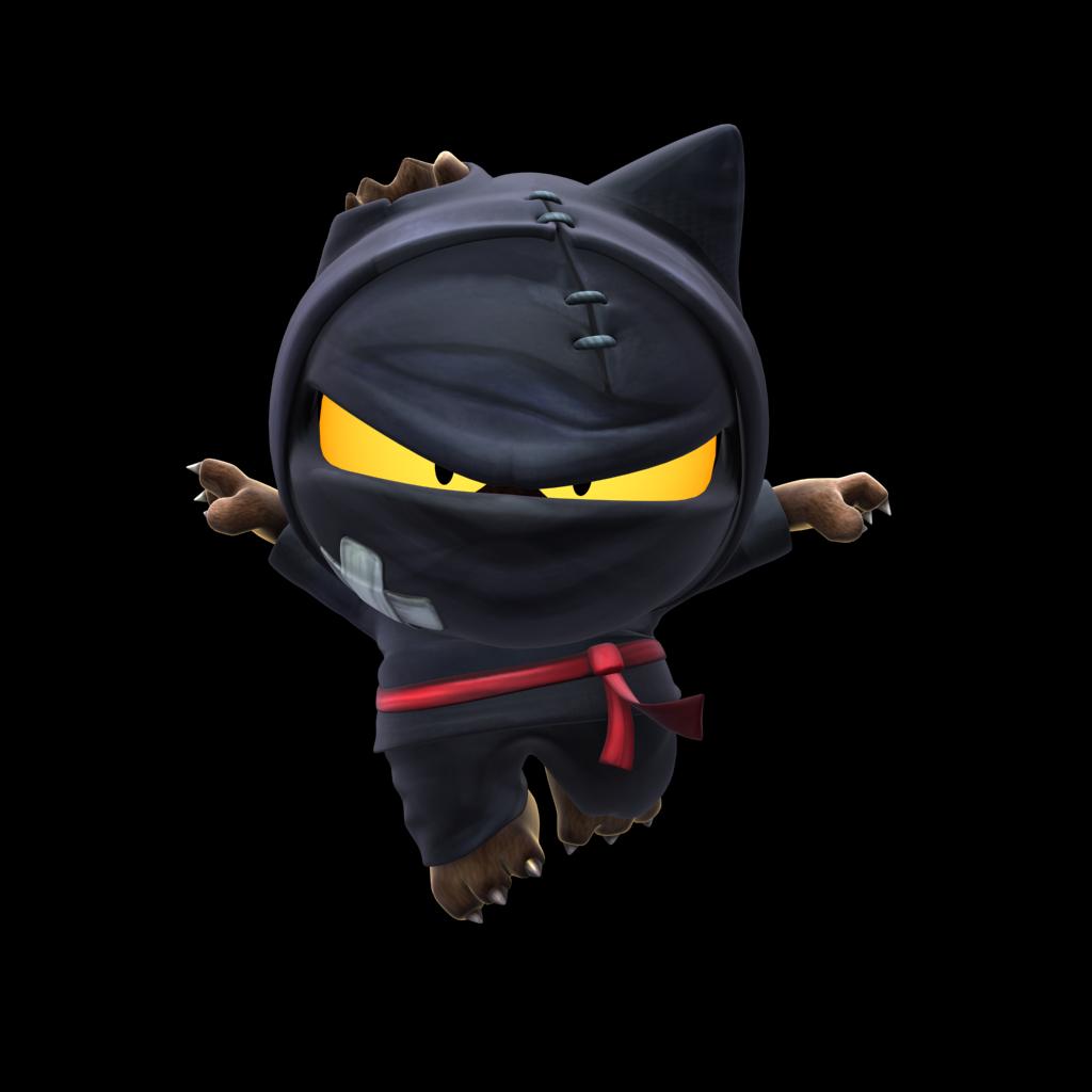 Video Game Ninja With Dog