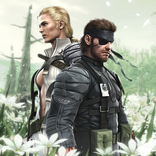 The Boss and Naked Snake (Big Boss)