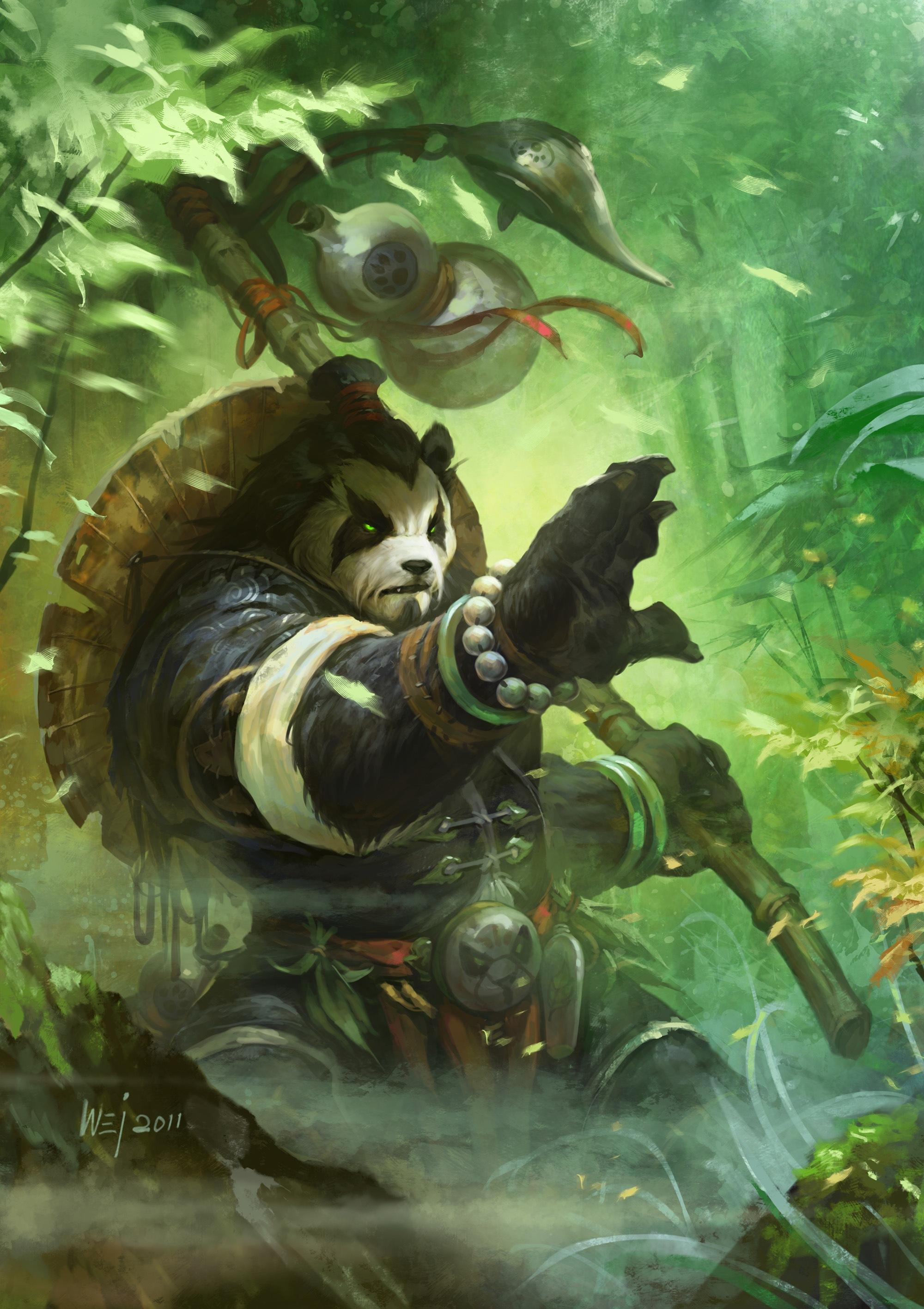 Artworks -The Dangerous Beasts Of… Pandaria!