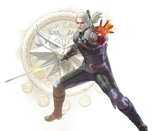 Geralt of Rivia Soul Calibur 6